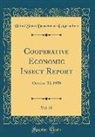 United States Department Of Agriculture - Cooperative Economic Insect Report, Vol. 20: October 23, 1970 (Classic Reprint)