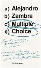Alejandro Zambra - Multiple Choice