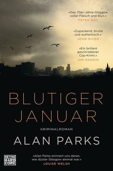 Alan Parks - Blutiger Januar - Kriminalroman