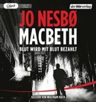 Jo Nesbø, Wolfram Koch - Macbeth, 2 MP3-CDs (Hörbuch)