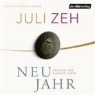 Juli Zeh, Florian Lukas - Neujahr, 4 Audio-CDs (Hörbuch)