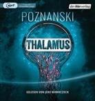 Ursula Poznanski, Jens Wawrczeck - Thalamus, 1 MP3-CD (Hörbuch)