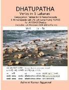 Ashwini Kumar Aggarwal - Dhatupatha Verbs in 5 Lakaras