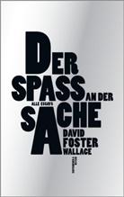 David Foster Wallace, David Foster Wallace, Ulric Blumenbach, Ulrich Blumenbach, Ingendaa, Marcus Ingendaay - Der Spaß an der Sache