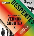 Virginie Despentes, Johann von Bülow - Das Leben des Vernon Subutex. Tl.3, 1 Audio-CD, (Hörbuch)