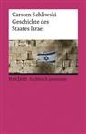 Carsten Schliwski - Geschichte des Staates Israel