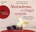 Stefani Stahl, Stefanie Stahl, Julia Tomuschat, Nina West - Nestwärme, die Flügel verleiht, 4 Audio-CDs (Hörbuch)