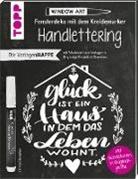 Nina Rötters - Die Vorlagenmappe Fensterdeko mit dem Kreidemarker - Handlettering