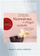 Stefani Stahl, Stefanie Stahl, Julia Tomuschat, Nina West - Nestwärme, die Flügel verleiht, 1 Audio-CD, MP3 (Hörbuch)