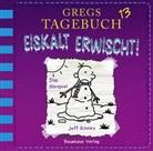 Jeff Kinney, diverse, Marco Eßer - Gregs Tagebuch - Eiskalt erwischt!, 1 Audio-CD (Hörbuch)