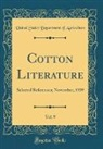 United States Department Of Agriculture - Cotton Literature, Vol. 9