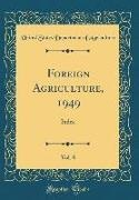 United States Department Of Agriculture - Foreign Agriculture, 1949, Vol. 8: Index (Classic Reprint)