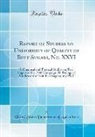 United States Department Of Agriculture - Report of Studies on Uniformity of Quality of Beet Sugars, No. XXVI