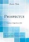 United States Department Of Agriculture - Prospectus