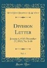 United States Department Of Agriculture - Division Letter, Vol. 4