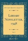 United States Department Of Agriculture - Library Newsletter, 1948, Vol. 8 (Classic Reprint)