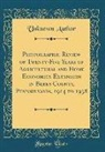 Unknown Author - Photographic Review of Twenty-Five Years of Agricultural and Home Economics Extension in Berks County, Pennsylvania, 1914 to 1938 (Classic Reprint)