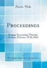 United States Department Of Agriculture - Proceedings