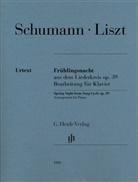 Franz Liszt, Robert Schumann, Annette Oppermann - Liszt, Franz - Frühlingsnacht aus dem Liederkreis op. 39 (Robert Schumann)