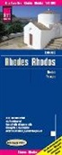 Reise Know-How Verlag Peter Rump, Pete Rump - Reise Know-How Landkarte Rhodos / Rhodes (1:80.000)