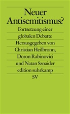 Christian Heilbronn, Doro Rabinovici, Doron Rabinovici, Natan Sznaider - Neuer Antisemitismus?