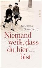 Nicoletta Giampietro - Niemand weiß, dass du hier bist