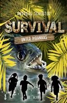 Andreas Schlüter - Survival - Unter Piranhas