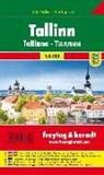 Freytag-Berndt und Artaria KG, Freytag-Bernd und Artaria KG - Freytag & Berndt Stadtplan Tallinn, Stadtplan 1:10.000