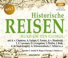 Diverse, diverse, Frank Arnold, Wolfgang Berger, Beate Rysopp, Frank Stieren... - Historische Reisen - rund um den Globus, 2 Audio-CD, (Hörbuch)