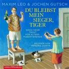 Jochen Gutsch, Maxi Leo, Maxim Leo, Hendrik Duryn - Du bleibst mein Sieger, Tiger, 3 Audio-CDs (Hörbuch)
