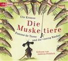Ute Krause, Andreas Fröhlich, Ute Krause - Die Muskeltiere - Pomme de Terre und die vierzig Räuber, 2 Audio-CDs (Hörbuch)