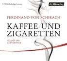 Ferdinand von Schirach, Lars Eidinger - Kaffee und Zigaretten, 3 Audio-CDs (Hörbuch)