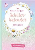 Viktoria Sarina, ViktoriaSarina - Spring in eine Pfütze! Schülerkalender 2019/2020