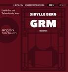 Sibylle Berg, Sibylle Berg, Lisa Hrdina - GRM, 2 Audio-CD, (Hörbuch)