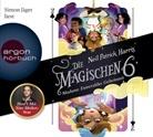 Neil P. Harris, Neil Patrick Harris, Simon Jäger - Die Magischen Sechs - Madame Esmeraldas Geheimnis, 4 Audio-CDs (Hörbuch)