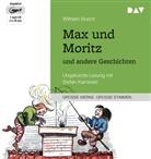 Wilhelm Busch, Stefan Kaminski - Max und Moritz und andere Geschichten, 1 MP3-CD (Hörbuch)