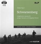 Stefan Heym, Jürgen Hentsch, Siegfried Worch - Schwarzenberg, 1 MP3-CD (Hörbuch)