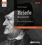 Richard Wagner, Gert Westphal - Briefe. Eine Auswahl, 1 MP3-CD (Hörbuch)
