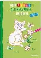 Kersti Turnhofer, Kersti Turnhofer, Tessloff Verlag, Tessloff Verlag, Tessloff Verlag Ragnar Tessloff GmbH & Co.KG - Mein buntes Glitzerzauber Malbuch (Katze)