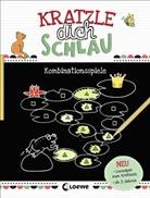 Corina Beurenmeister, Loew Kratzel-Welt, Loewe Kratzel-Welt - Kratzle dich schlau - Kombinationsspiele