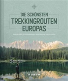 KUNTH Verlag, KUNTH Verlag, KUNT Verlag - Die schönsten Trekkingrouten Europas