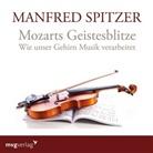 Manfred Spitzer - Mozarts Geistesblitze, 1 Audio-CD (Hörbuch)