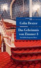 Colin Dexter - Das Geheimnis von Zimmer 3