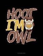 Engy Publishing - Hoot I'm an Owl: Unruled Composition Book