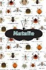 Rob Cole - Natalie: Bug Insects Personalized Name Notebook Journal Diary Sketchbook with 120 Lined Pages 6x9