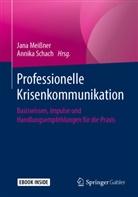 Jan Meißner, Jana Meißner, Schach, Annika Schach - Professionelle Krisenkommunikation, m. 1 Buch, m. 1 E-Book