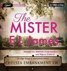 E L James, Regina Gisbertz, Matthias Scherwenikas - The Mister, 2 MP3-CD (Hörbuch)