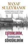 Manaf Süleymanov - Esitdikl rim, oxuduqlarim, gördükl rim