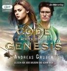 Andreas Gruber, Jodie Ahlborn, Achim Buch - Code Genesis - Sie werden dich jagen, 1 Audio-CD, MP3 (Hörbuch)