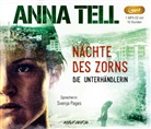 Anna Tell, Svenja Pages - Nächte des Zorns, 1 Audio-CD, (Hörbuch)